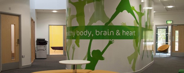 Lime Tree School Signage - Pod at completion of works