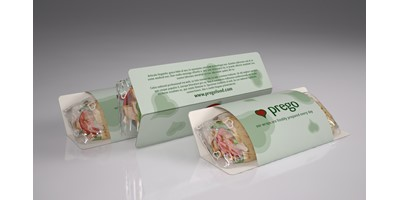 Prego packaging - Tortilla wraps