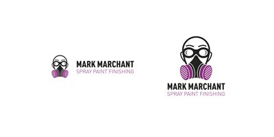 Mark Marchant - Two different versions of the logo, one for website and limited vertical space, the other for stationery and larger promotional material