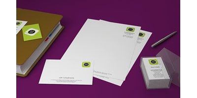 Best Digital Branding - Collection of stationery items