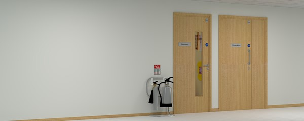 Lime Tree School Signage - Internal door signs and fire notices
