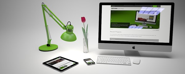 New website now live! - 3D model showing new website on Apple Inc products