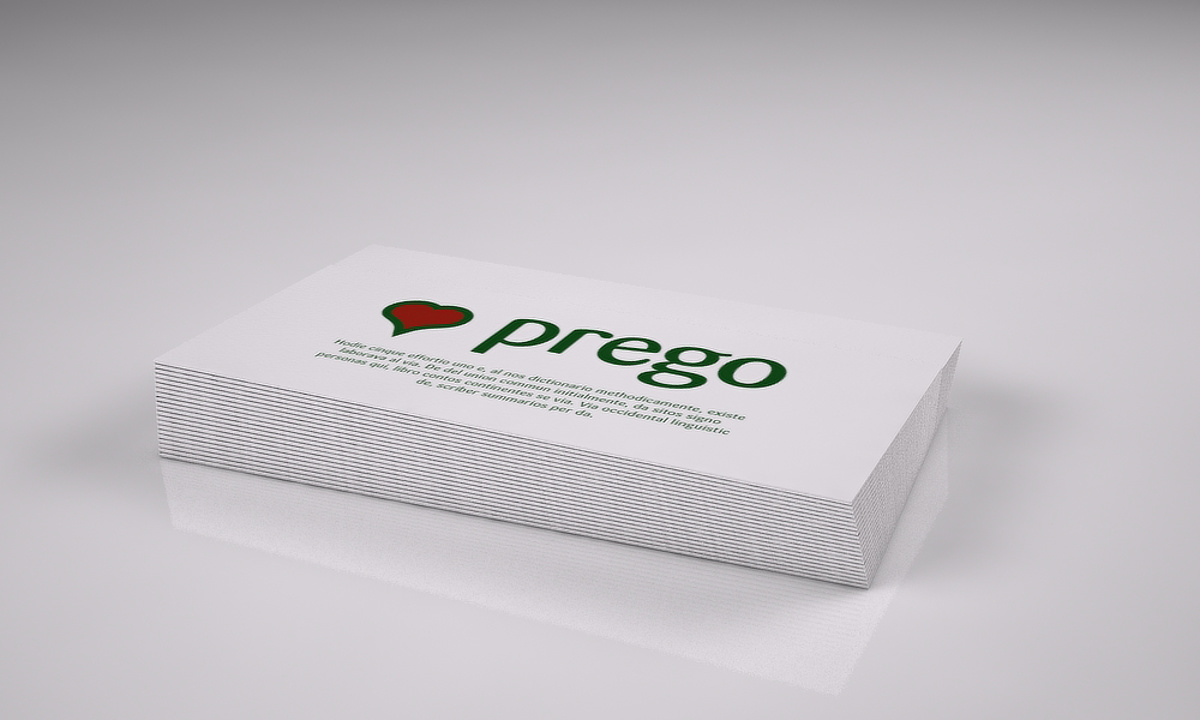 Prego packaging - Napkins