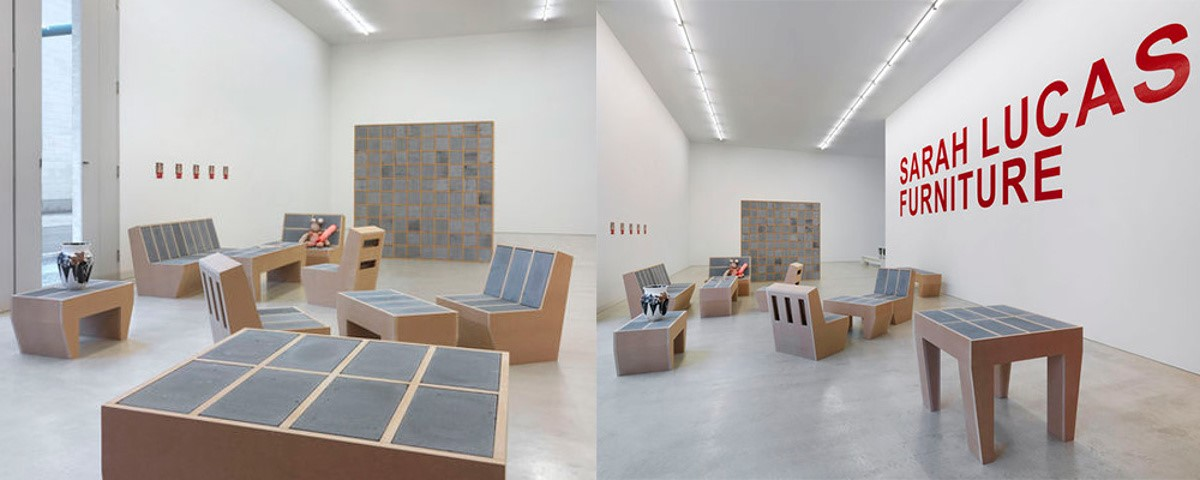 Sarah Lucas Furniture - Exhibition of furniture collection at Contemporary Fine Arts Gallery Gmbh