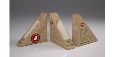 Prego packaging - Slim sandwich boxes