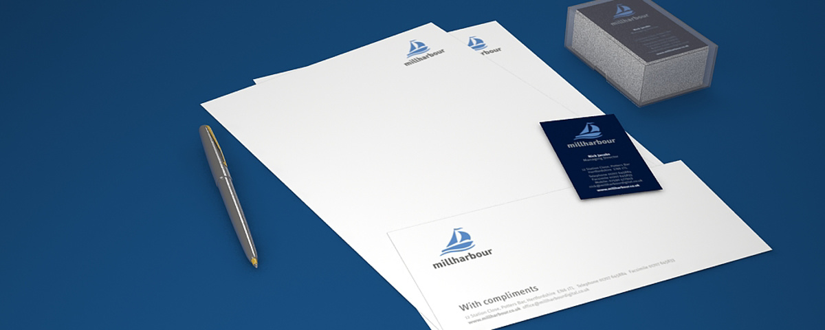 Millharbour Branding - Collection of printed Items