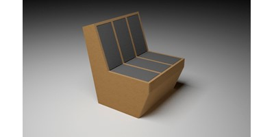 Sarah Lucas Furniture - I - Wide Chair with vented back