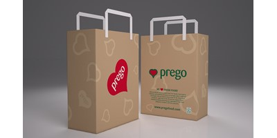 Prego packaging - Carrier bags