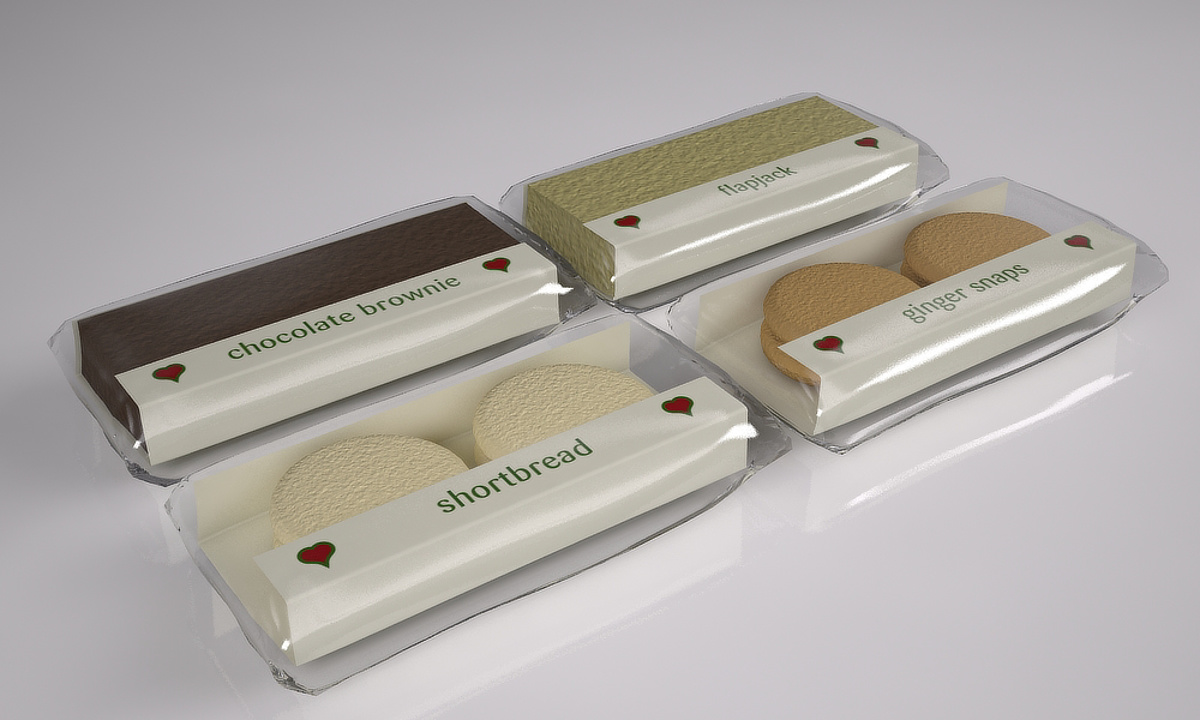 Prego packaging - Cakes and biscuits